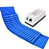 LNNZML Anti-Dekubitus-Matratze mit Pumpe, keine Notwendigkeit zur Nutzung Elektrizität Einzel Startseite älteren Behinderte Patient bettlägerig for Dekubitus und Wundpflege Hips Luft aufblasbaren Bett -