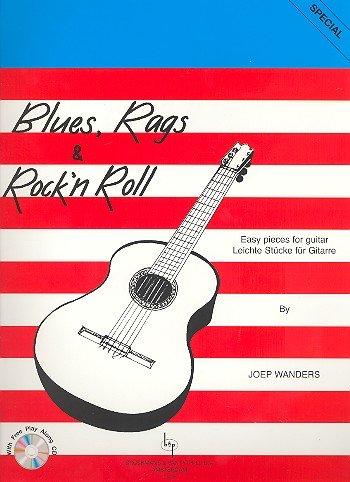 Broekmans en van Poppel Blues Rags and Rock'n'Roll +CD - Joep Wanders