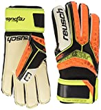 Reusch - Repulse SG Finger Support Junior, Color Amarillo,Naranja, Talla 6.5