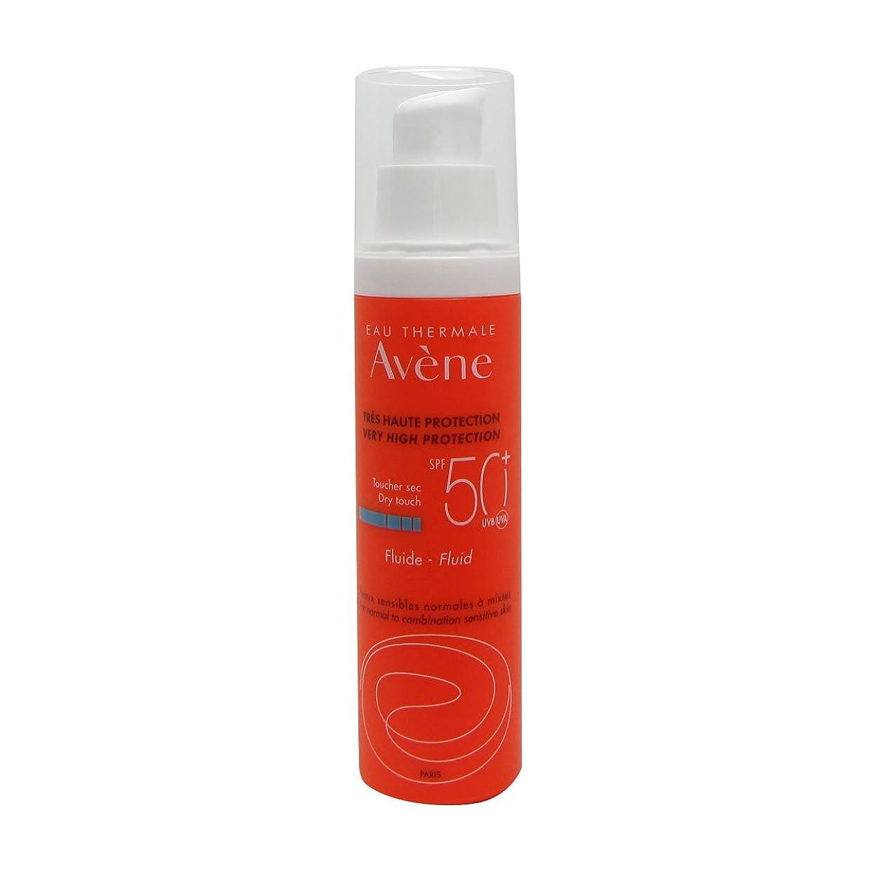 広告主放つ戦闘Avene Sunscreen Emulsion 50+ 50ml [並行輸入品]