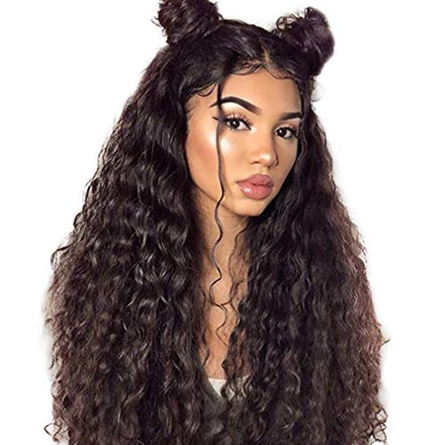 Human Hair Wig 360 Water Wave PerüCken Brazilian Brazilian Wig Human Hair Wigs Brazilian Wig Human Hair 360 Lace Frontal Wig Swiss Lace Virgin Hair Wig 16 Zoll(40.64cm)
