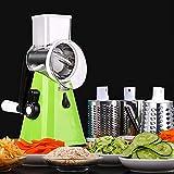 Fullwatt Cortador de verduras 3 en 1, rallador de verduras, rallador de tambor,...