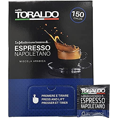 Caffè Toraldo Napoletano Miscela Arabica 150 Cialde