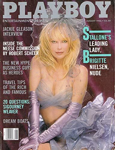 PLAYBOY Adult Magazine August 1986