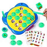 Vanmor Chess Memory Game for Kids, 3 in 1 Matching Cards Board Game, Magnetic Fishing Game for Toddlers Preschool Educational Travel Activity Gift for Boys Girls 3 and Up
