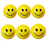 Abee Stress Reliever Smiley Ball - Pack of 6