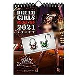 Sexy Girls DIN A5 Kalender Hochformat für 2021 Erotik - Seelenzauber