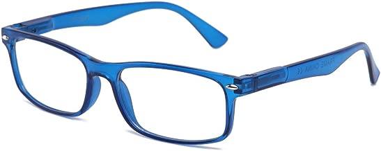 Unisex Translucent Simple Design No Logo Clear Lens Glasses Squared Fashion Frames