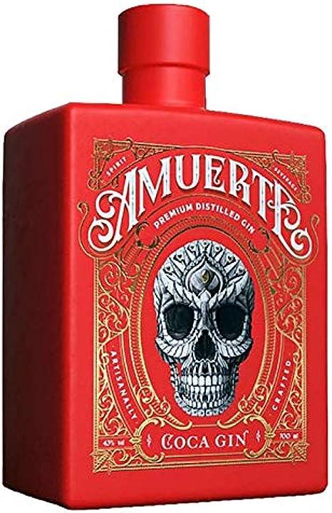 Gin amuerte red coca amuerte cola leaf gin, gusto esclusivo al pineberry edizione limitata, 700 ml 43% B08CRQC64V