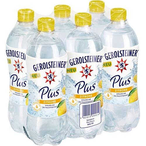 Gerolsteiner Plus Zitrone, 6er Pack (6x750 ml)