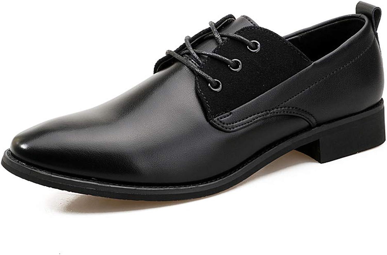 Shuo lan hu wai Herren Herren Herren Business Oxford Casual British Style Lackleder Formelle Schuhe,Grille Schuhe (Farbe   Schwarz, Größe   40 EU)  9c16f5