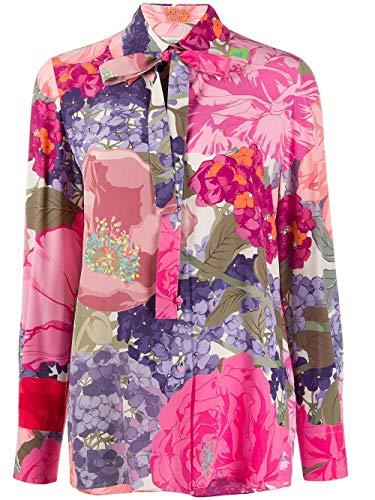 Luxury Fashion | Valentino Dames TB3AB16D587AM0 Fuchsia Zijde Blouses | Lente-zomer 20