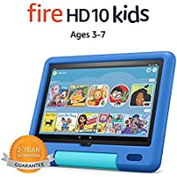 Amazon All-new Fire 10.1 Inch, 1080p Full HD 10 Kids tablet (Sky Blue)