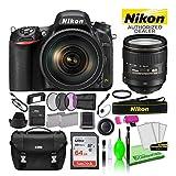 Nikon D750 DSLR Digital Camera with 24-120mm VR Lens (1549) USA Model Deluxe Bundle -Includes- Sandisk 64GB SD Card + Nikon Gadget Bag + Filter Kit + Spare Battery + Camera Cleaning Kit + More