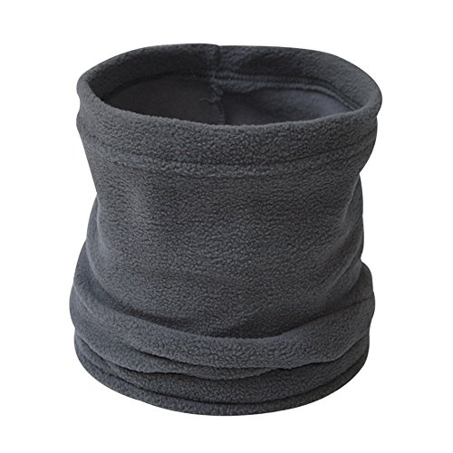 ANSUG Scaldacollo unisex Scalda collo in pile polare Sciarpa multiuso collo, passamontagna, cappello...
