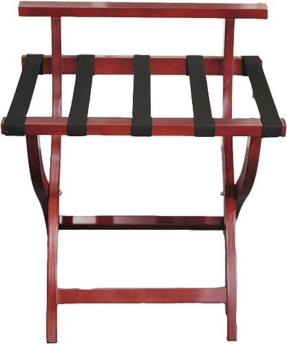 ordene ahora los precios más bajos GBY, Inc. Escabel Rack de Equipaje Equipaje Equipaje de Madera Plegable Rack de Almacenamiento de Equipaje Rack de Almacenamiento Rack Taburete bajo  con 60% de descuento