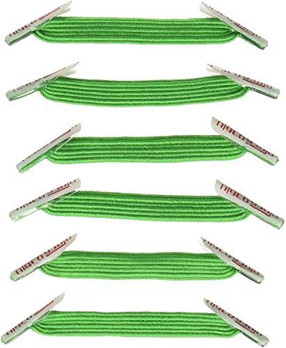 U-Lace Mix N match, lacci, Verde (Vert - Vert Kelly), Taglia unica