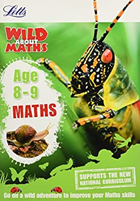 Maths Age 8-9 (Letts Wild About) by Letts
