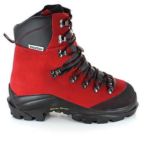 Treemme 1108/R Forststiefel Rot EU 48