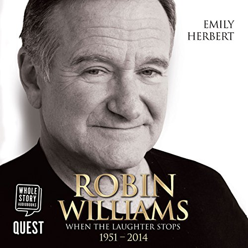 Robin Williams audiobook cover art