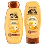 Garnier Hair Care Whole Blends Honey Treasures Repairing Shampoo & Conditioner, 44 Ounces