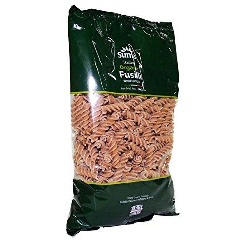 Suma / Iris | Organic Wholewheat Fusilli | 8 x 500g
