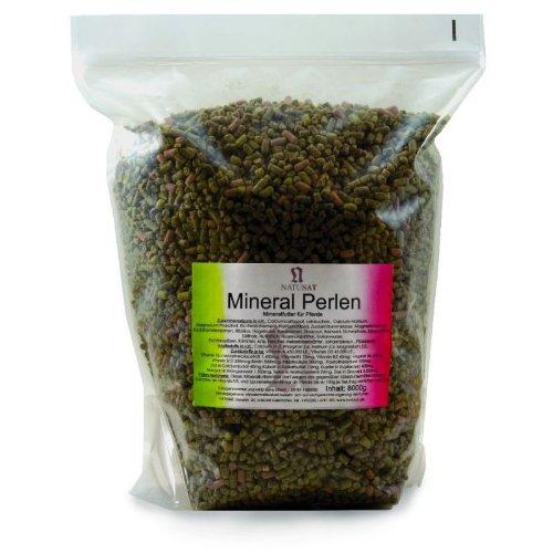 Natusat Mineral Perlen 8 kg mit hohem Kräuter-, Gemüse-, u. Fruchtanteil - Mineralfutter für Pferde
