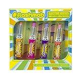 Markwins Flashmob Besos eléctricos negrita de color y brillo Lápices labiales, 1er Pack (1 x 4 piezas)
