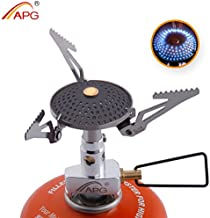 APG Dual Fuel Portable Camping Backpacking Stove Liquid Fuel Gasoline Stove Burner, Compact Mini Cooking Stove with Silencer, for Outdoor Hiking Backpacking Emergency Kit & Survival Gear�