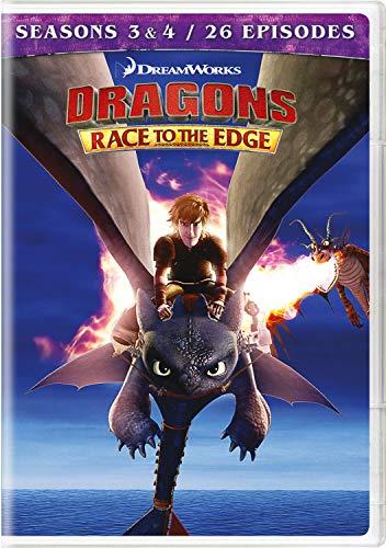 Dragons: Race To The Edge - Seasons 3 & 4 (4 Dvd) [Edizione: Stati Uniti]