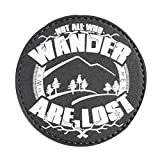 5ive Star Gear 'not All Who Wander-Glow Quote Morale Patch, One Size, Multi-Colored