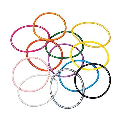 Fun Express - Assorted Color Jelly Bracelets - Jewelry - Bracelets - Novelty Bracelets - 1728 Pieces