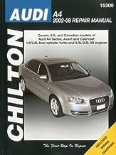 Chilton Repair Manual for Audi A4, Avant & Cabriolet (2002-2008)