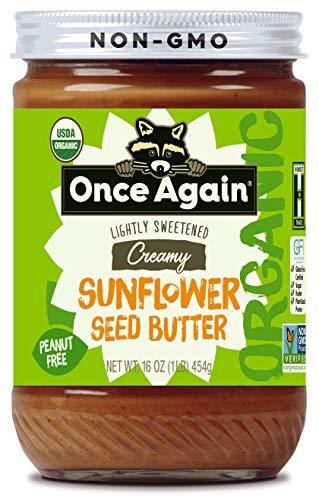 Organic, Creamy Sunflower Butter