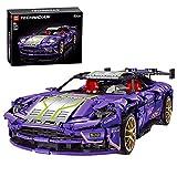 WWEI Juego de construcción de bloques de construcción para coches deportivos Speed Champions de carreras, 2268 piezas MOC, bloques de montaje para coche, compatible con Lego Aston Martin DB11