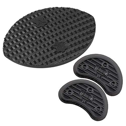 Ogquaton - Juego de almohadillas de goma antideslizantes para reparación de zapatos de niños