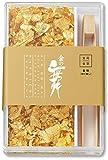 【食用金箔金粉 金の舞】ケース・竹箸付+≪プレゼント≫一回分おためし入浴剤・湯の花
