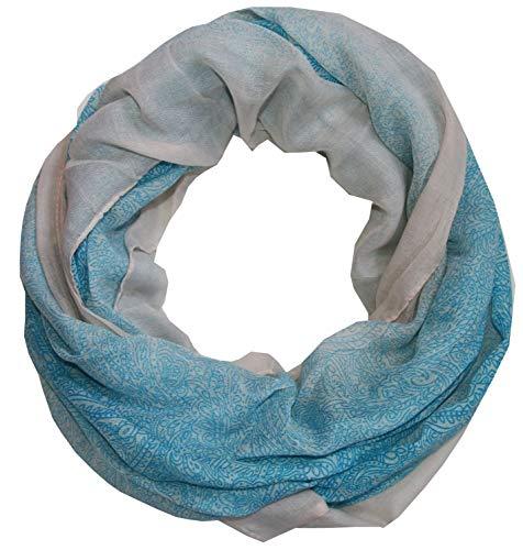 outlet-king -  Sciarpa - Paisley - Donna batik blau XX-Large