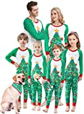 Matching Family Christmas Pajamas Boys Girls Tree Jammies Children Gift Set Size 7