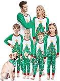 Matching Family Christmas Pajamas Boys Girls Tree Jammies Children Gift Set Size 6
