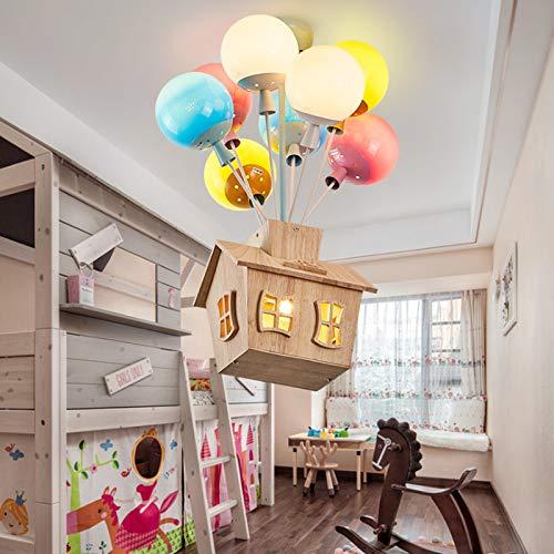Kinderzimmer Deckenleuchte E27 Moderne Kinder Kronleuchter Cartoon Ballon Beleuchtung Hauptschlafzimmer Wohnzimmer...