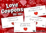 Love Coupons For Him: Valentines day Vouchers for Husband or...