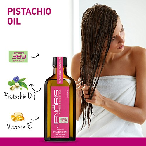 Jenoris Pistachio Oil Hair Treatment Best Hair Care Products For Women And Men Add A Touch Of Luxury To Your Hair Care Routine To Maintain Your Shine And Glow Even On The Go Buy