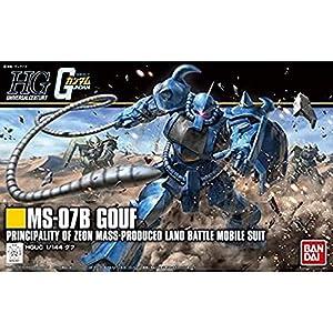 HGUC 196 機動戦士ガンダム グフ 1/144スケール 色分け済みプラモデル