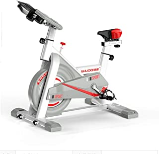 AWSAD Indoor Exercise Bike, Studio Cycles Exercise Machines Low Noise Adjustable Handlebars Seat Distance Time Calories + ...