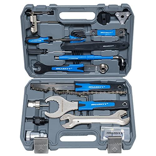 Fahrradreparatur Kit Multifunktionswerkzeug Werkzeugkoffer 51tlg Fahrrad Reparaturen