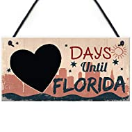 Plaque Size: 200 x 100 mm (approx) Suitable For: Chalkboard Countdown Sign, Holiday Countdown Sign, Friendship Gifts, Family Gifts Style: Contemporary Material: High Grade PVC Made in England