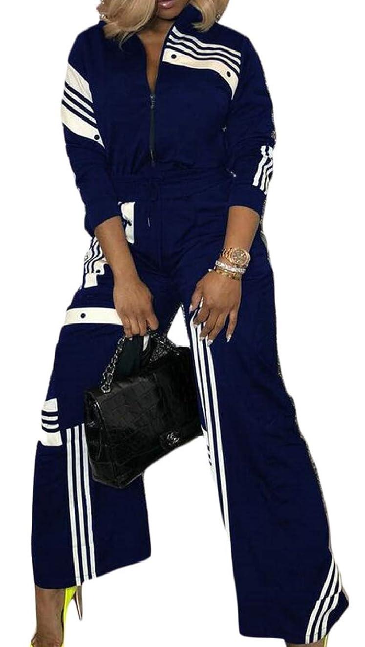 スチュワーデスメインふつう女性カジュアル2ピース衣装ロングスリーブジャケットとワイドレッグパンツセット