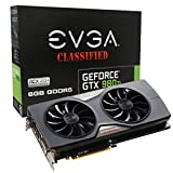 EVGA GeForce GTX 980 Ti 6GB CLASSIFIED GAMING ACX 2.0+, Whisper Silent Cooling w/ Free Installed Backplate Graphics Card 06G-P4-4998-KR