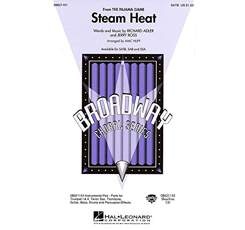Hal Leonard Steam Heat (from The Pajama Game) Combo Parts Arranged by Mac Huff